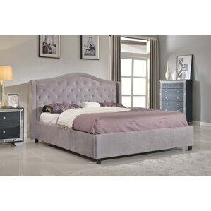 Gramercy Upholstered Platform Bed by House of Hampton