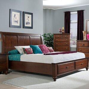 Newport Storage Sleigh Bed by Cambridge