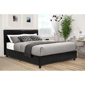 Spruce Hill Queen Upholstered Platform Bed by Varick Gallery®