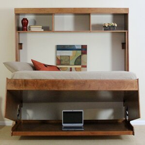 Modern Birch Murphy Bed by Wallbeds