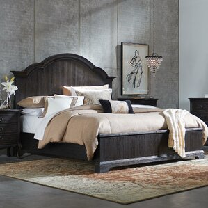 Rafeala Panel Bed by August Grove®