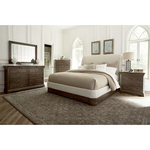 Pond Brook Upholstered Panel Bed by Darby Home Co®