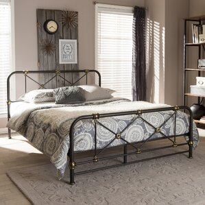 Baxton Studio Full/Double Platform Bed by Wholesale Interiors
