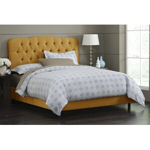 Handley Upholstered Panel Bed by House of Hampton