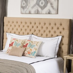 Hackmore Upholstered Panel Bed by Rosalind Wheeler