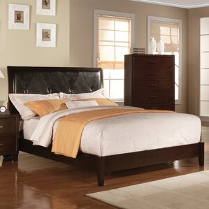 Upholstered Platform Bed by Charlton Home®