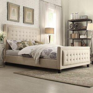 Woodside Upholstered Platform Bed by Three Posts
