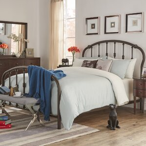 Woodburn Queen Sleigh Bed by Three Posts