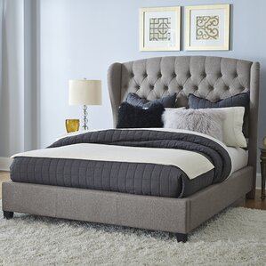 Edgar Upholstered Panel Bed by Darby Home Co®