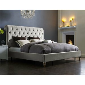 Lomax Upholstered Platform Bed by House of Hampton