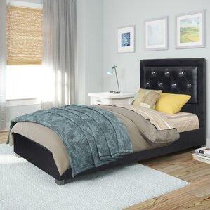 Jenson Upholstered Platform Bed by Wade Logan®