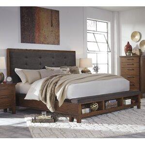Upholstered Storage Panel Bed by Brayden Studio®