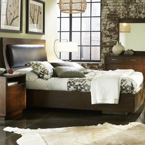 Julien Upholstered Storage Platform Bed by Wade Logan®
