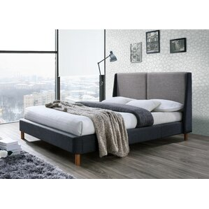 Oliver Upholstered Platform Bed by Omax Decor