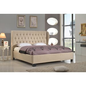 Schultz Upholstered Platform Bed by House of Hampton