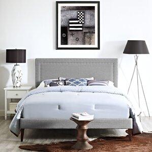 Jessamine Upholstered Platform Bed by Modway