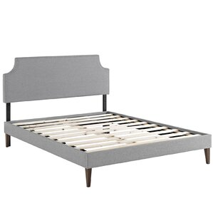 Laura Upholstered Platform Bed by Modway