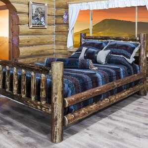 Glacier Country Collection Panel Bed by Montana Woodworks®