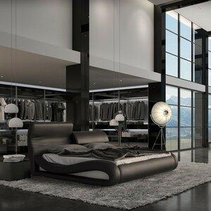 Belafonte Upholstered Platform Bed by Wade Logan®