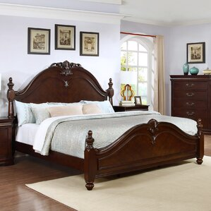 Traditional Panel Bed by Best Quality Furniture