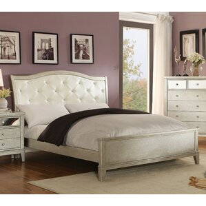 Ballantine Upholstered Panel Bed by House of Hampton