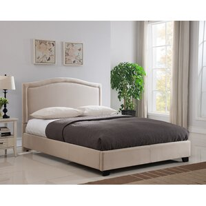 Abbotsford Upholstered Platform Bed by Mantua Mfg. Co.