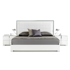 Marley Upholstered Panel Bed by Wade Logan®