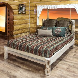 Montana Platform Bed by Montana Woodworks®