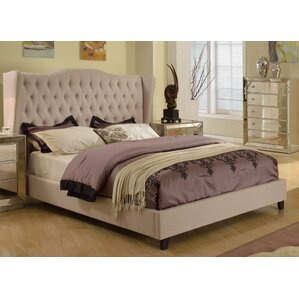 Linwood Upholstered Panel Bed by House of Hampton