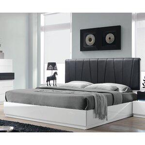 Linehan Upholstered Platform Bed by Wade Logan®