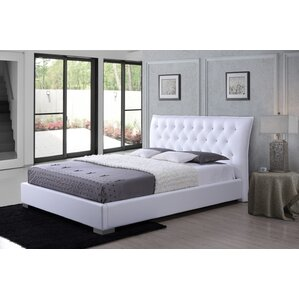 Aldana Upholstered Platform Bed by Latitude Run