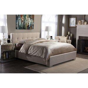 Alderete Upholstered Platform Bed by Latitude Run