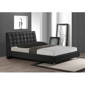 Gabrielle Queen Upholstered Platform Bed by Wade Logan®