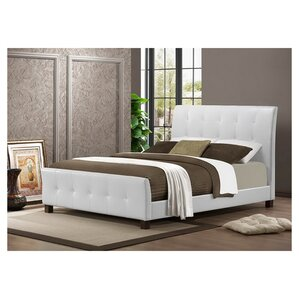 Albury Upholstered Platform Bed by Latitude Run