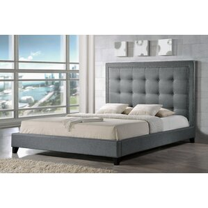 Tasha Upholstered Platform Bed by Latitude Run