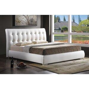 Elida Upholstered Platform Bed by Latitude Run