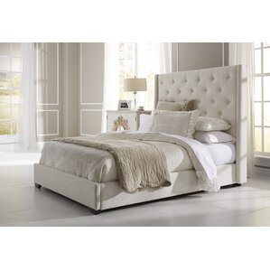 Fares Upholstered Bed by Lark Manor