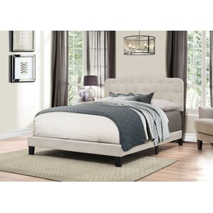 Barbery Upholstered Panel Bed by House of Hampton