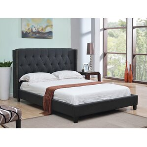 Bassford Upholstered Platform Bed by House of Hampton