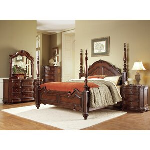 Drew Four poster Bed by Astoria Grand