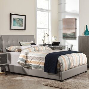 Gosford Upholstered Panel Bed by Latitude Run