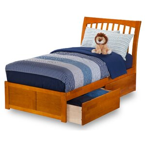 Homer Storage Platform Bed by Alcott Hill®