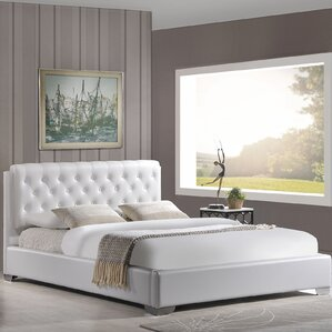 Amelia Queen Upholstered Platform Bed by Modway