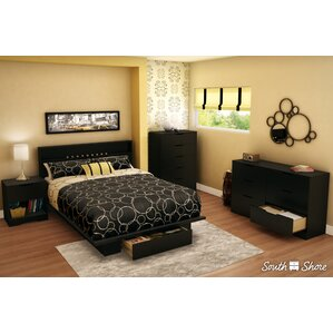 Holland Storage Queen Platform Bed by South Shore