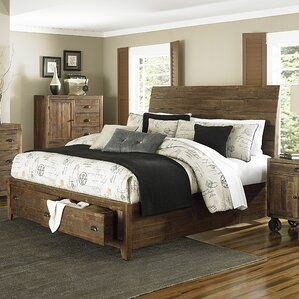 Gilman Ridge Island Storage Panel Bed by Loon Peak®