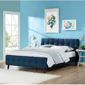 Ophelia Queen Upholstered Platform Bed by Modway