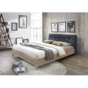 Baxton Studio Rebecca Upholstered Full Platform Bed by Wholesale Interiors