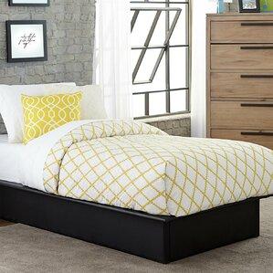 Upholstered Platform Bed by DHP