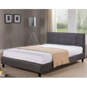 Bagley Queen Upholstered Platform Bed by Varick Gallery®