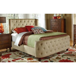 Marlow Upholstered Panel Bed by House of Hampton